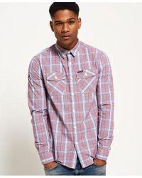 Superdry - Washbasket Long Sleeve Shirt - Lyst