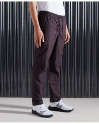 Superdry Pantalones cargo Nyco - Morado