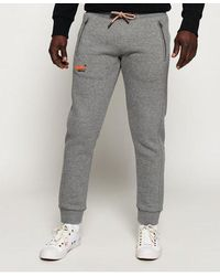 Superdry Orange Label Classic Joggers - Grey