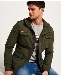 Superdry Rookie Military Jacket - Green