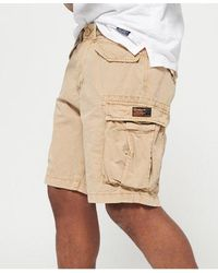 Superdry Core Lite Ripstop Cargo Shorts - Natural