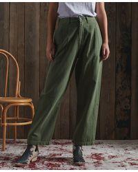 Superdry DRY Pantalon plissé Dry en Édition Limitée - Multicolore