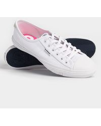 Superdry Low Pro Sneakers - White
