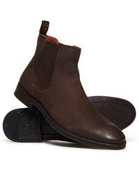 Superdry Meteora Chelsea Boots - Brown