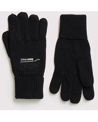 Superdry Orange Label Gloves - Black