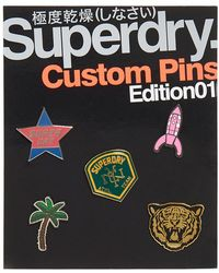 Superdry Custom Pin Badge Pack - Multicolour