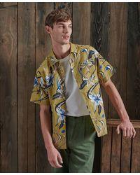 Superdry Dry Limited Edition Dry Hawaiian Overhemd - Metallic