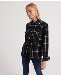 Superdry Bailey Western Check Shirt - Green