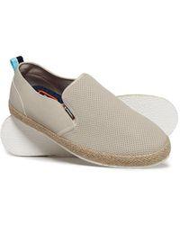Superdry Zapatos híbridos sin cordones - Blanco