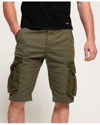 Superdry Pantalones cortos ligeros tipo cargo Core - Verde