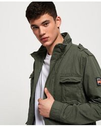 Superdry Classic Rookie Pocket Jacket - Green