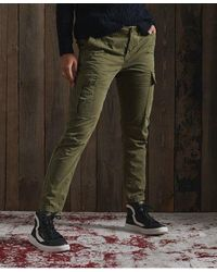 Superdry Slim Cargo Trousers - Green