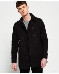Superdry | City Slim Trench Coat | Lyst