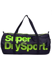 Superdry - Super Sport Gym Barrel Bag - Lyst