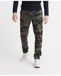 Superdry Worldwide Drawstring Trousers - Green