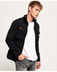 Superdry Classic Rookie Military Jacket - Black