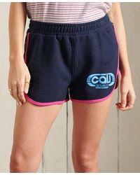 Superdry Cali Jersey Shorts - Blue