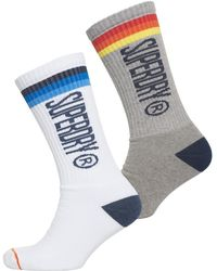 Superdry | Surk Side Sock Double Pack | Lyst