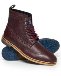 Superdry - Shooter Boots - Lyst