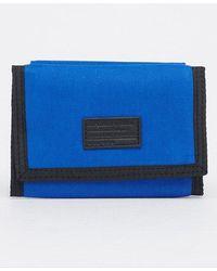 Superdry Cartera con cierre de velcro Workwear - Azul