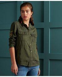 Superdry Military Pocket Shirt - Green