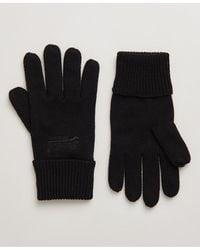 Superdry Orange Label Handschoenen - Zwart