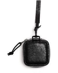 Balenciaga Кожаная Сумка С Логотипом - Черный