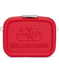 Balenciaga Красный Клатч С Логотипом