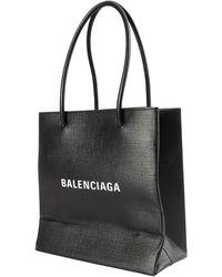 Balenciaga Сумка Shopping Xxs С Логотипом - Черный