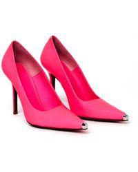 Vetements Розовые Туфли Из Матовой Кожи - Розовый