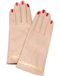 Undercover Leather Gloves - Natural