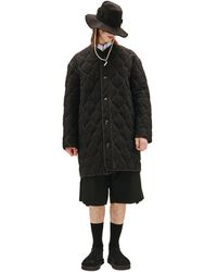 OAMC Quilted Coat - Black