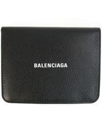 Balenciaga Кожаный Кошелек Cash - Черный