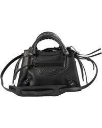 Balenciaga Черная Сумка Neo Classic Mini - Черный