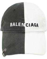 Balenciaga Двухцветная Кепка С Пирсингом - Многоцветный