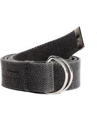 Yeezy - Grey Textile Belt - Lyst
