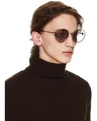 Doublet Pink Round Sunglasses