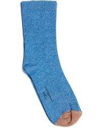 Golden Goose Deluxe Brand - Lurex Socks - Lyst