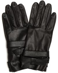 Yohji Yamamoto - Leather Gloves With Contrast Stitches - Lyst