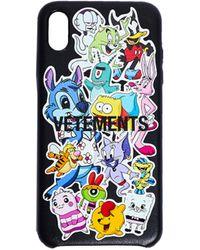 Vetements Monsters Iphone Xs Max Case - Black