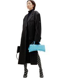 Balenciaga Сумка Hourglass Strech Top - Синий