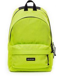 Balenciaga Неоново-зеленый Рюкзак Db Pack