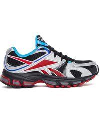 Vetements Black & Red Spike Runner 200 Sneakers - Multicolor