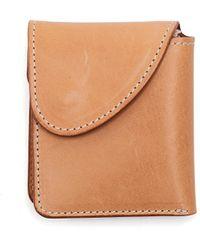 Hender Scheme Leather Wallet - Natural