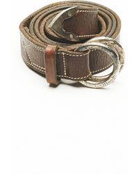 Golden Goose Deluxe Brand Leather Belt - Brown