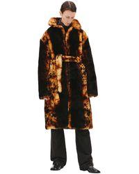 Vetements Sheepskin Coat - Multicolor