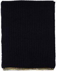 Maison Margiela - Black Cashmere Scarf - Lyst