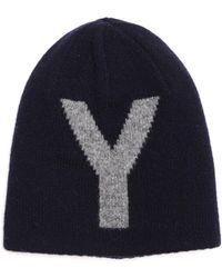 Y's Yohji Yamamoto - Y Logo Beanie - Lyst