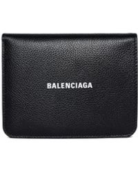 Balenciaga - Кожаный Кошелек Cash - Lyst