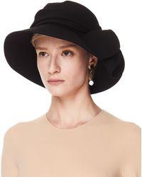 Y's Yohji Yamamoto Асимметричная Шляпа Черного Цвета - Черный